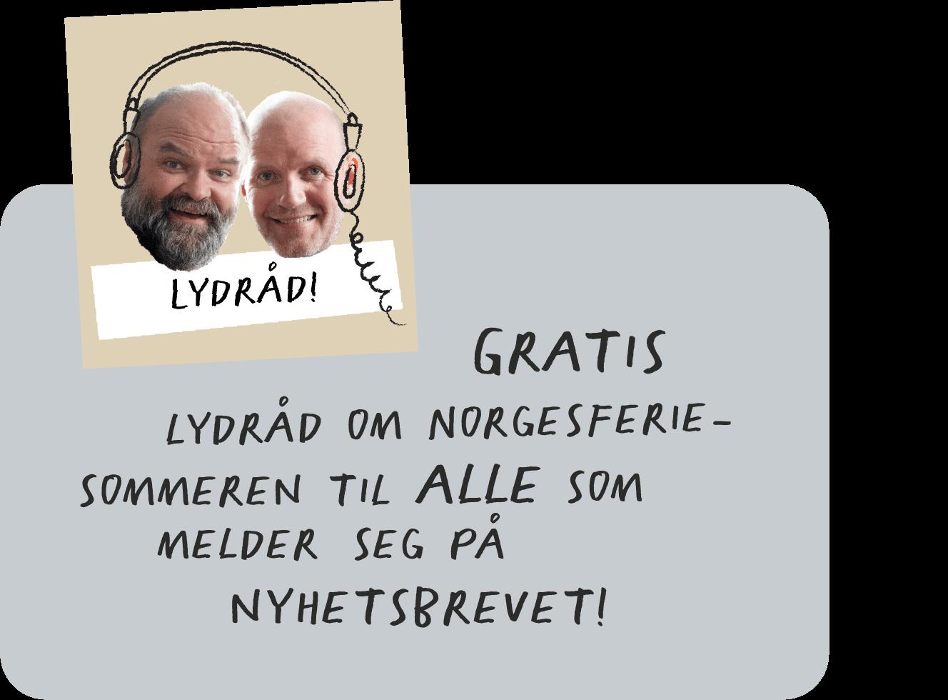 Bård Tufte Johansen og Atle Antonsen